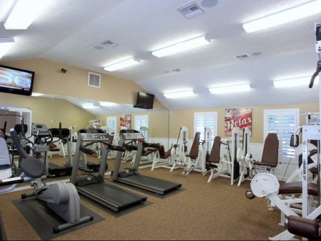 Spyglass Apartments Fitness Center