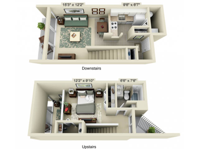 view floor plans - One Bedroom Apartments Gainesville Fl